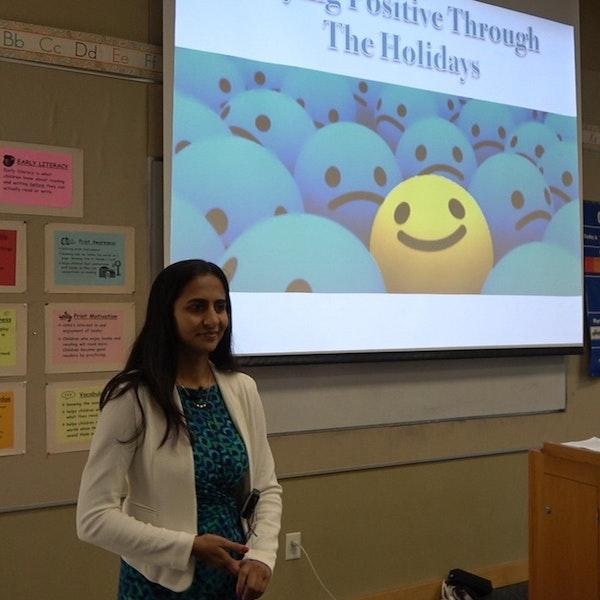 18: Staying Positive Through The Holidays | Mita Shah Image