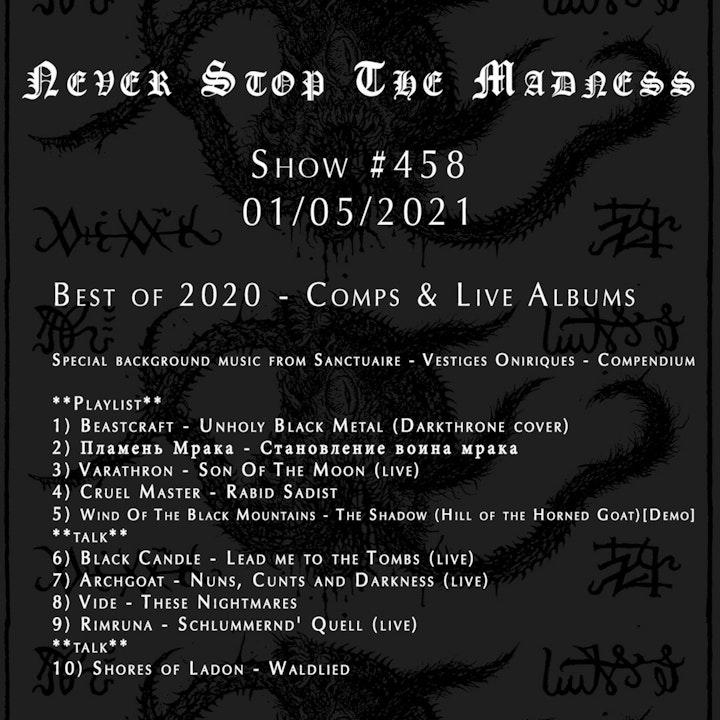 #458 - 01-05-21 - Best of 2020 : Comps & Live Albums