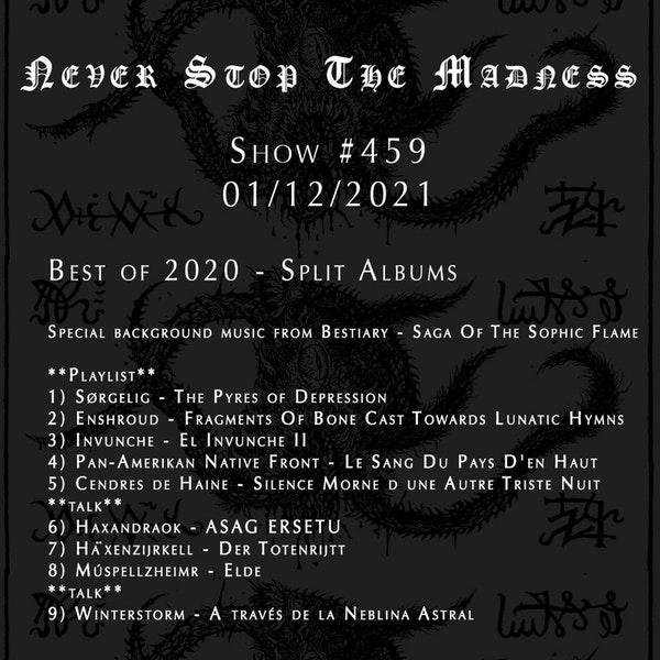 #459 - 01-12-21 - Best of 2020 : Split Albums