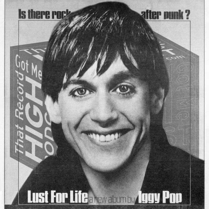 """S2E103 - Iggy Pop """"Lust For Life"""" with Joey Maya"""