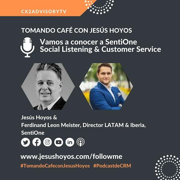 Edición Podcast - Tomando Café Con Jesús Hoyos - Vamos A Conocer A SentiOne Image