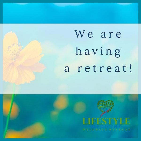 43: We Are Having A Retreat! Dr. Riz, Marla Ablon & Maya Image