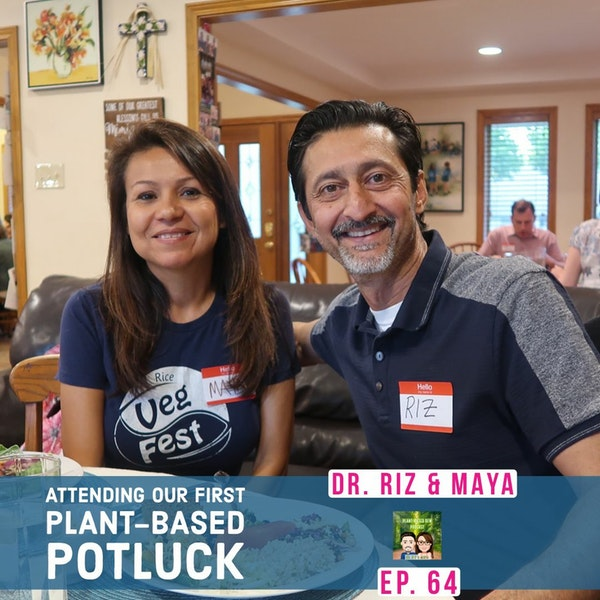 64 Plant-Based Potluck Hosted by Cancer Survivors Image