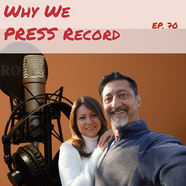 70: Why We Have A Podcast, Dr. Riz & Maya Image