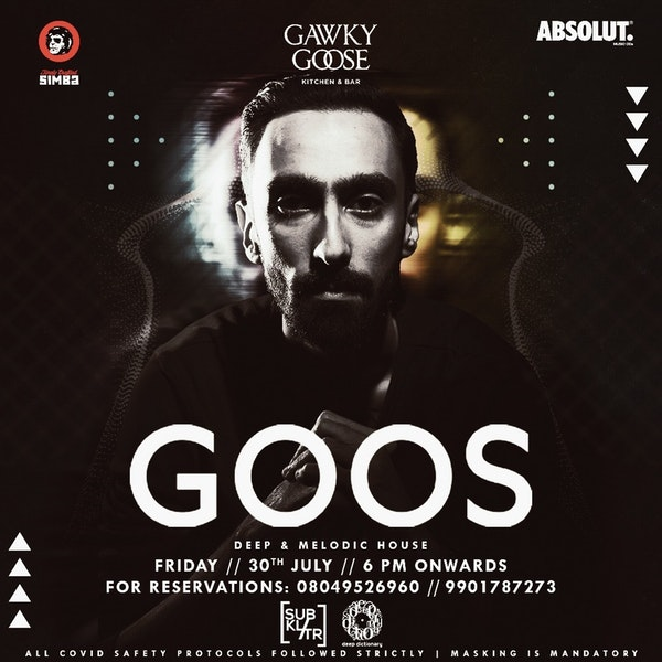 Live at Gawky Goose - 29072021