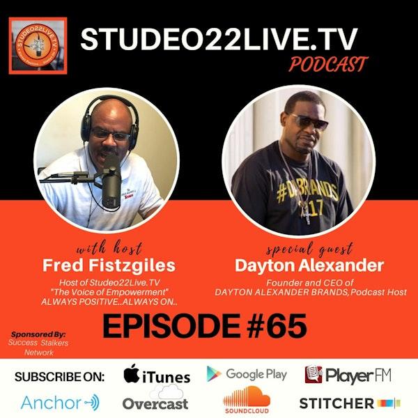 Episode#65 - Dayton Alexander CEO of DABRANDS Image