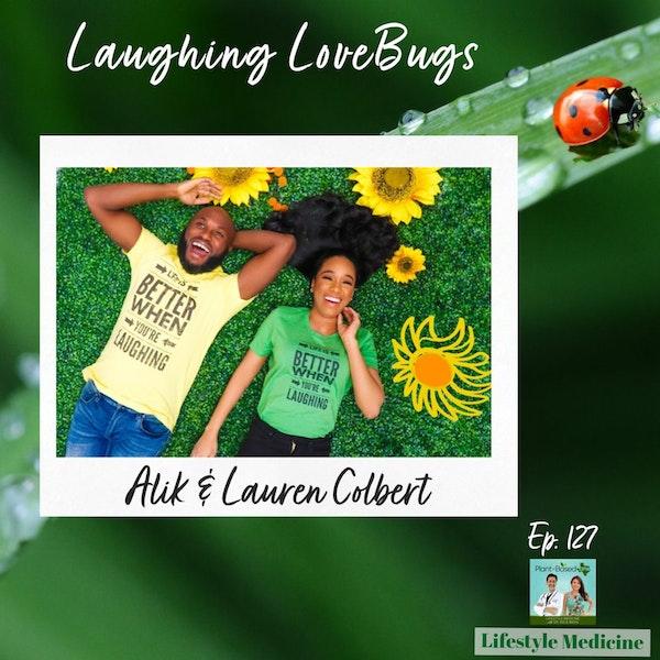 127: Laughter + Yoga  |  Laughter LoveBugs Alik & Lauren Colbert Image