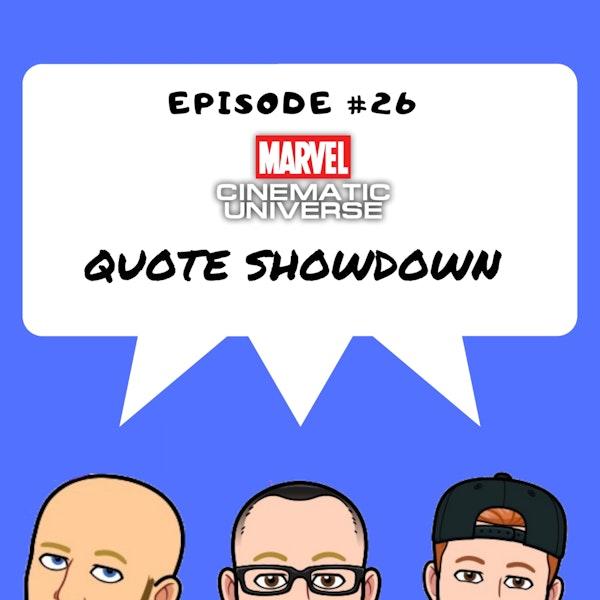 #26 - MCU Quote Showdown Image
