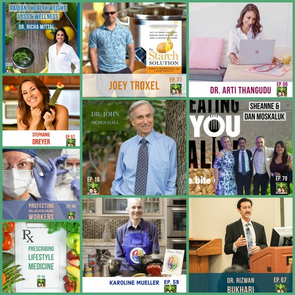 90: Top 10 Podcast Episodes of 2020 | Plant Based DFW Image