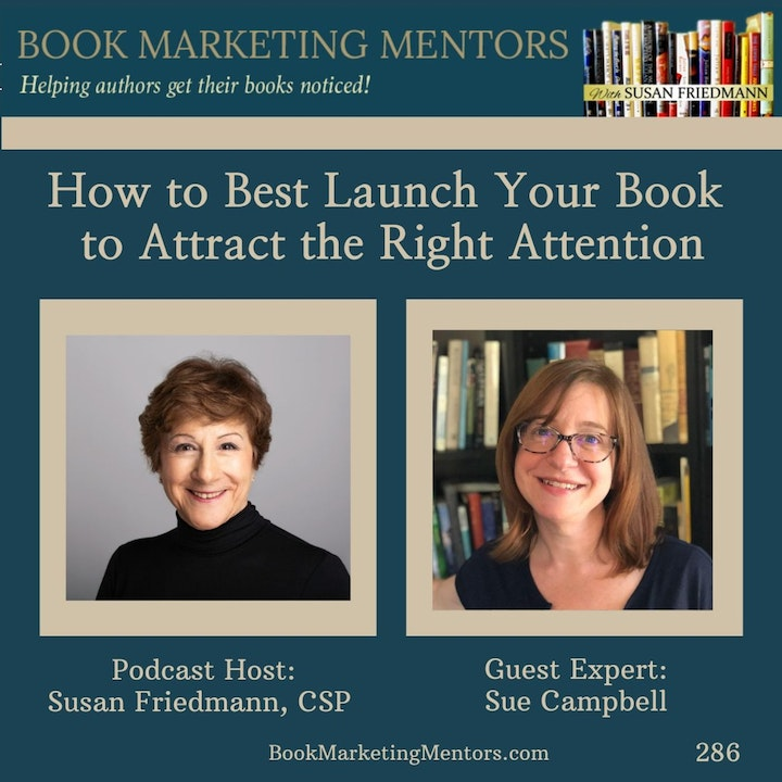 How to Best Launch Your Book to Attract the Right Attention - BM286