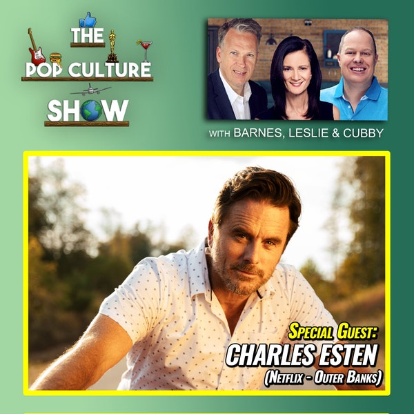 Charles Esten Interview (Outer Banks / Nashville / The Office) + Chadwick Boseman Image