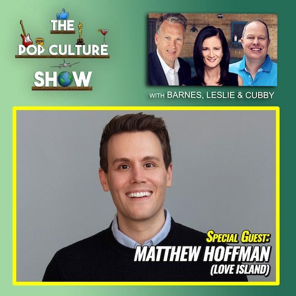 Matthew Hoffman Interview (Love Island Narrator) + Ellen + Tom Cruise + Drew Barrymore Image