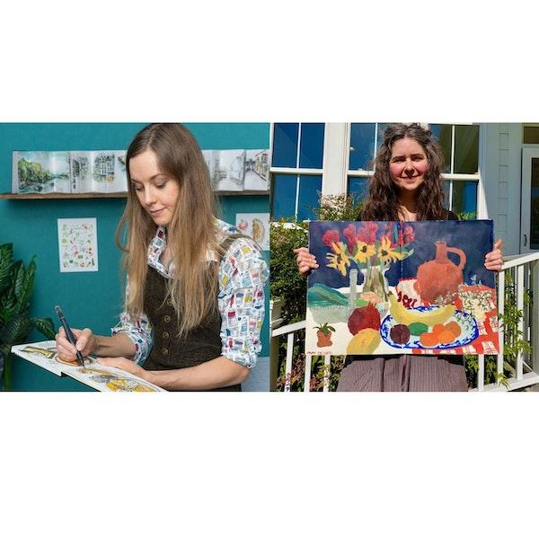 Sketchbooks with Mel and Sandi Image