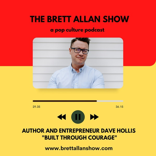 "Author and Entrepreneur Dave Hollis    ""Built Through Courage"" Image"