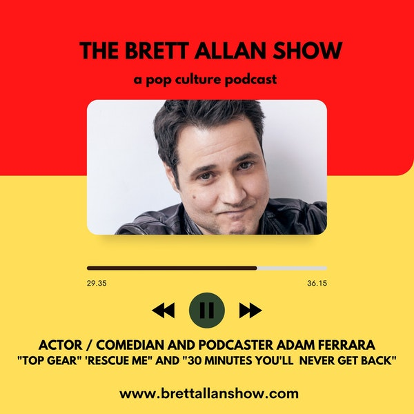 """Actor and Comedian Adam Ferrara 