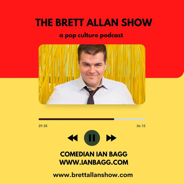 """Comedian Ian Bagg   A Comedy Career that is In the """"Bagg"""" Image"""