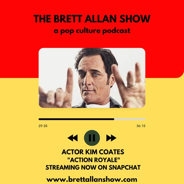 """Actor Kim Coates Talks """"Action Royale"""" Streaming Now On Snapchat 