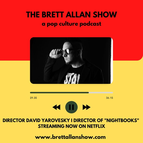 "David Yarovesky I Director of ""Nightbooks"" Streaming now on Netflix Image"
