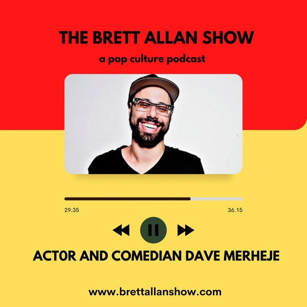 """Comedian and Actor Dave Merheje 