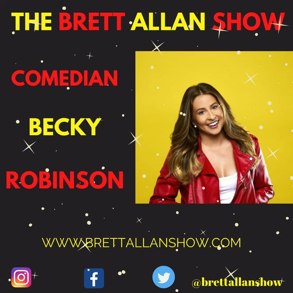"""Comedian Becky Robinson 