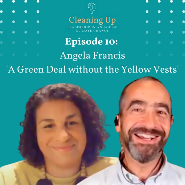 Ep10: Angela Francis 'A Green Deal without the Yellow Vests' Image