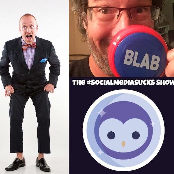 The Social Media SUCKS Show on Blab w/ Social Media Marketing Author, Speaker, Joel Comm Image