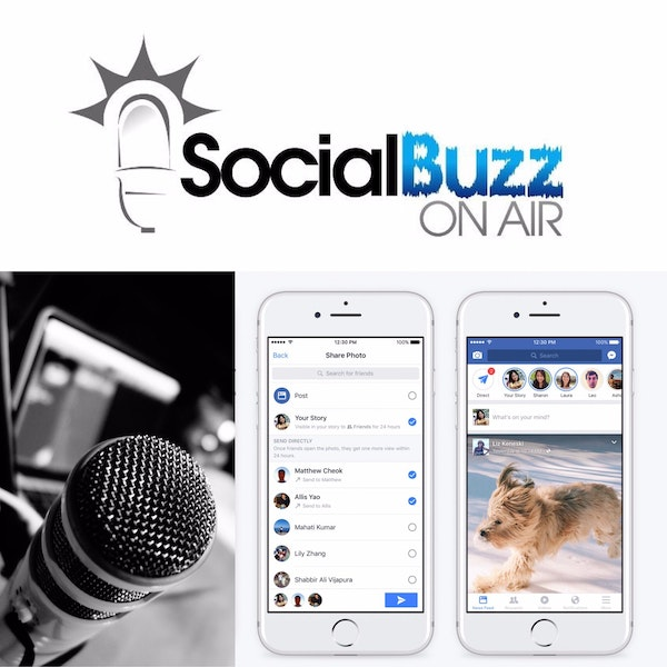 EPISODE 23 - The Seb Rusk Show - What Is A Podcast -- Facebook Stories Image