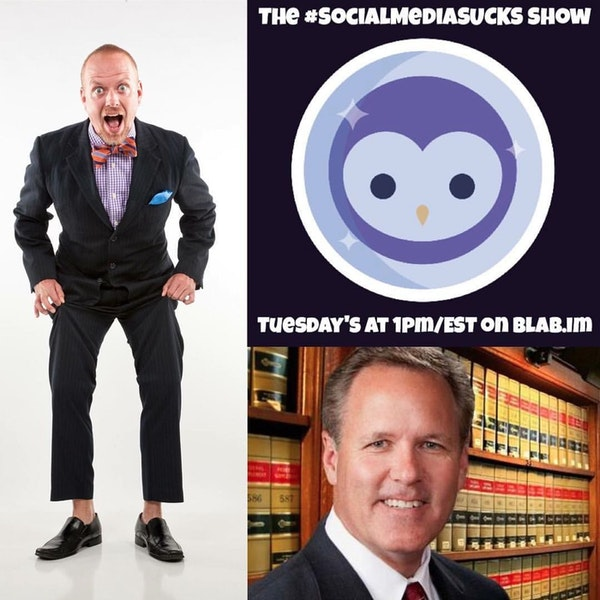 EPISODE 17: The Social Media Sucks Show - Mitch Jackson : Social Media Copyright Law Image