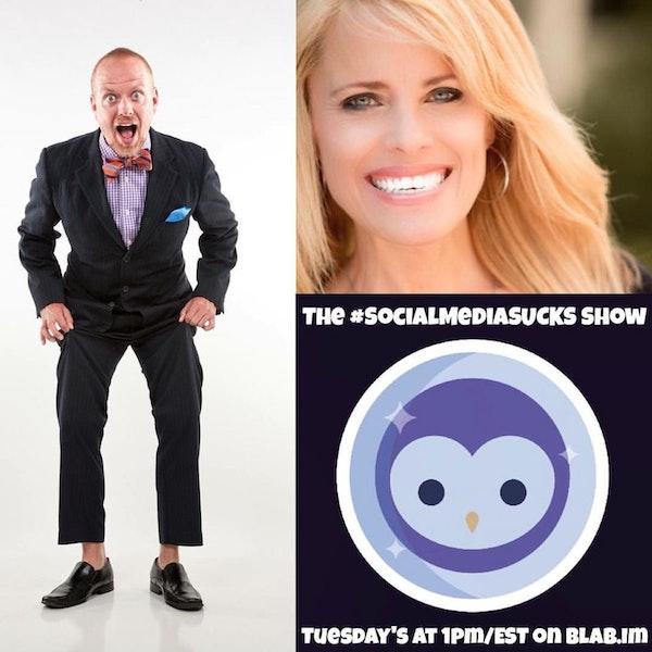 The Social Media Sucks Show - Rebekah Radice : Create Awesome Social Media Marketing Content Image
