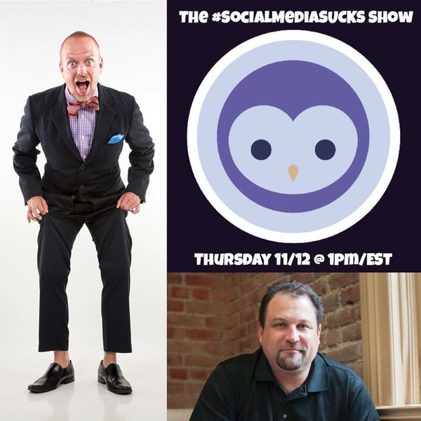 The Social Media SUCKS Show - Bryan Kramer :: Shareology and Human to Human Image
