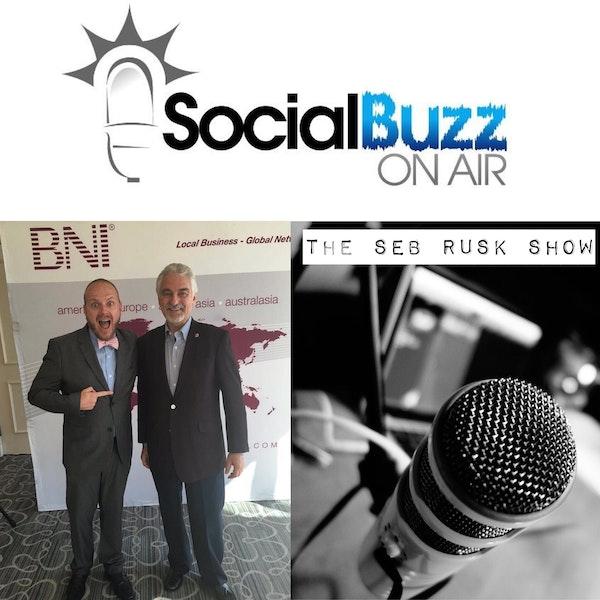 EPISODE 29 - The Seb Rusk Show :  BNI International Founder, Dr. Ivan Misner - Business Networking Image