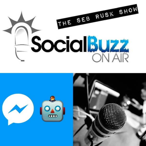 EPISODE 22 - The Seb Rusk Show - WTF is a Social Media Chat Bot?! : Chat Bots 101 Image