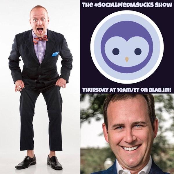 The Social Media SUCKS Show w/ Digital Strategist Scott Monty - Social Media Marketing 2016 Image