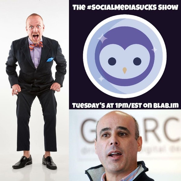 EPISODE 15: The Social Media SUCKS Show - Mark Shaw - Twitter, Live Streaming & #TagTribes Image