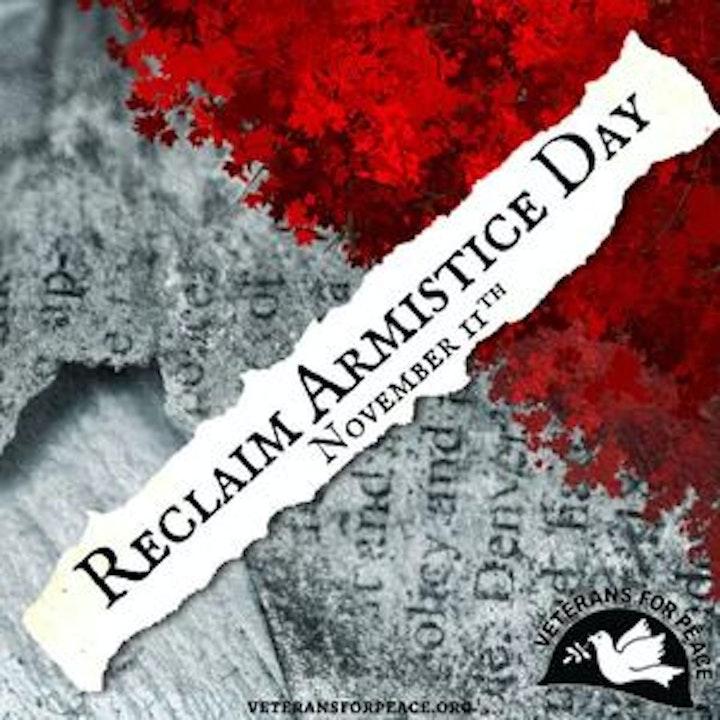 Reclaim Armistice Day with David Swanson #UnmaskMilitarism