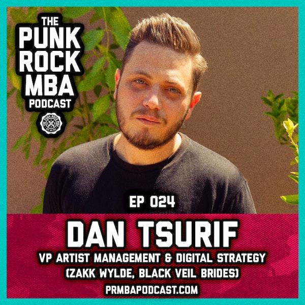 Dan Tsurif (VP Artist Management  & Digital Strategy) Image
