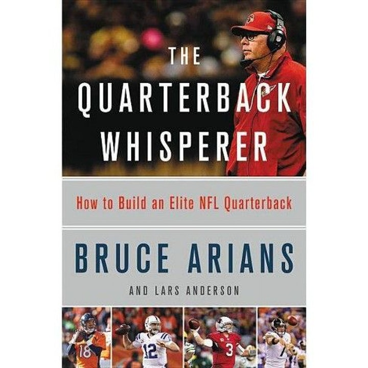 The Quarterback Whisperer w/ co-author, Lars Anderson