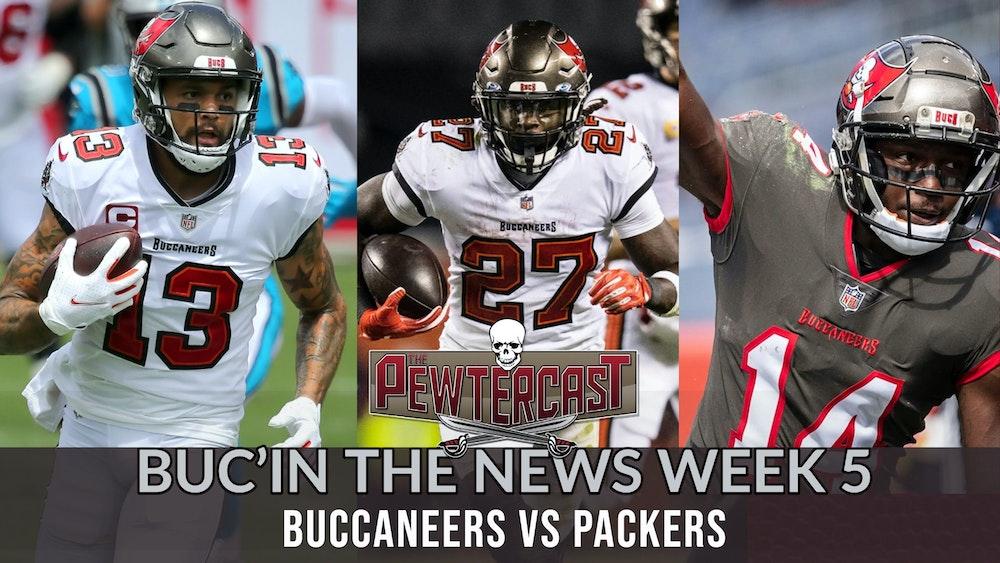 Buc'In the News - Week 6 Tampa Bay Buccaneers vs Green Bay Packers