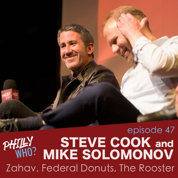 Mike Solomonov & Steve Cook: The Chefs Behind Zahav, Federal Donuts, The Rooster, Abe Fisher, Goldie, and Dizengoff Image