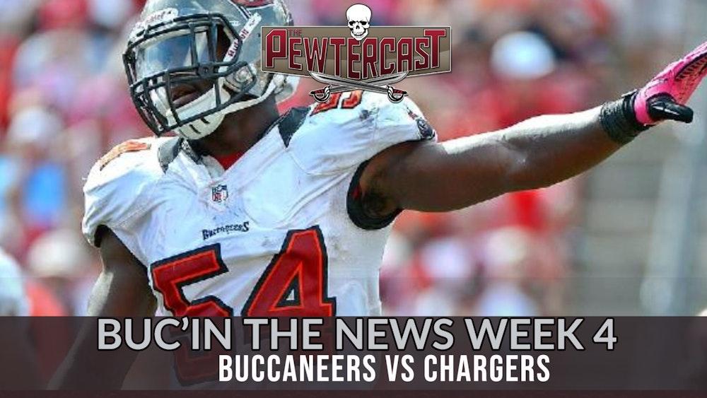 Buc'In the News Week 4 - Tampa Bay Buccaneers vs Los Angeles Chargers