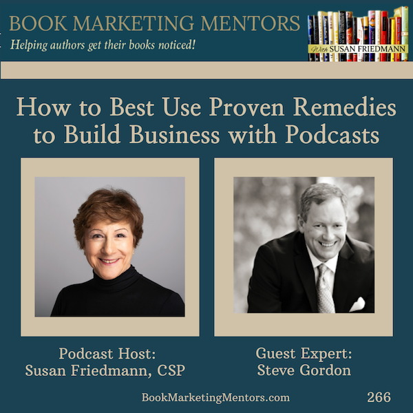 How to Best Use Proven Remedies to Build Business with Podcasts - BM266 Image