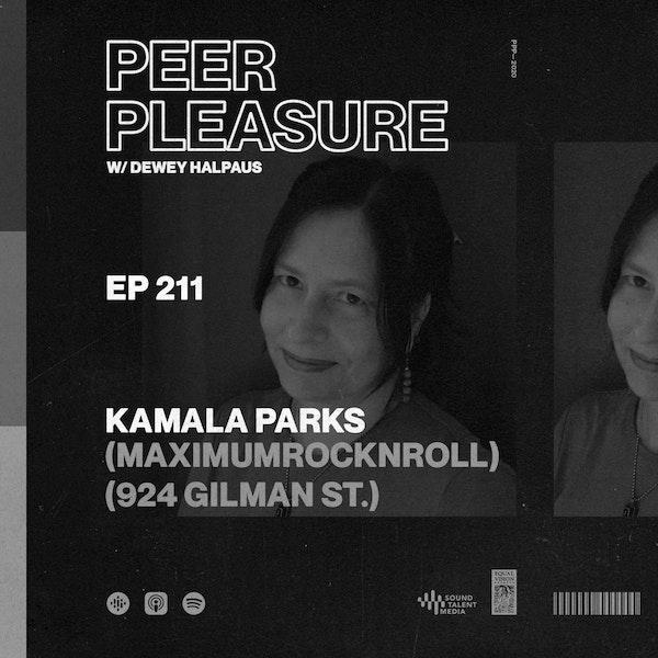 Kamala Parks (Maximumrocknroll/924 Gilman St.)