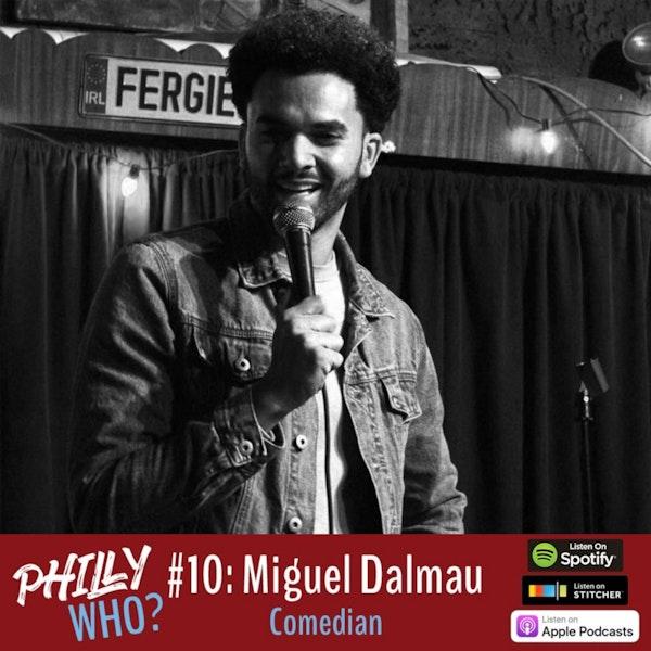 Miguel Dalmau: Comedian & American Immigrant Image