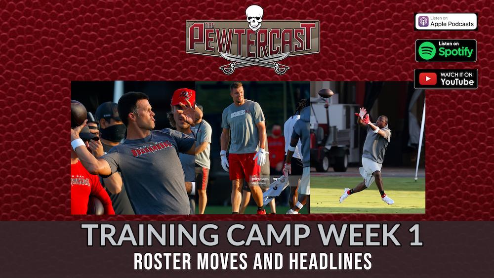 Buccaneers Training Camp 2020, Week 1