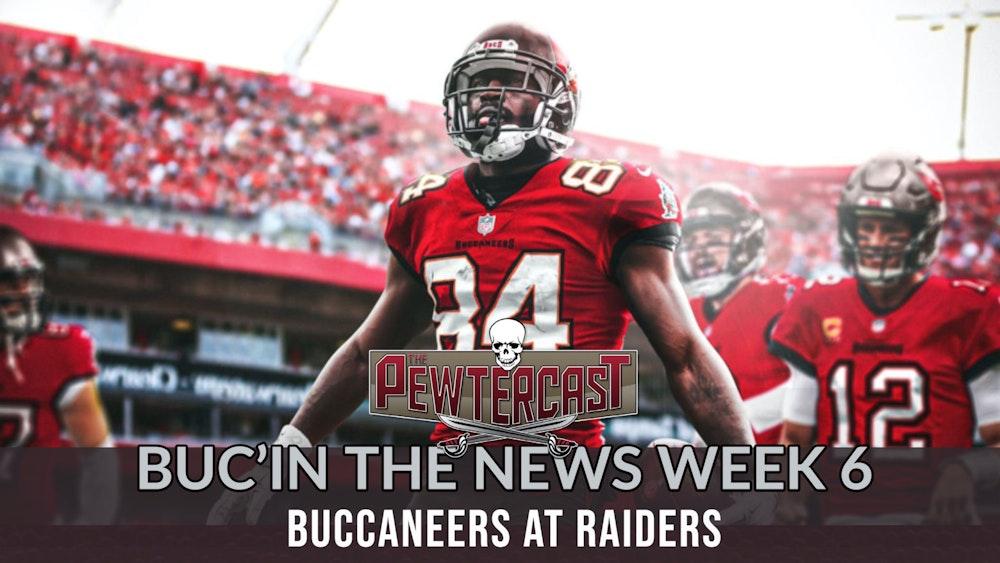 Buc'In the News - Week 7 Tampa Bay Buccaneers vs Las Vegas Raiders