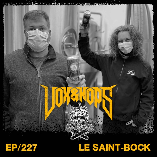 Non-Alcoholic Beer will save the day with Martin Guimond & Philippe Tremblay of Le Saint-Bock.
