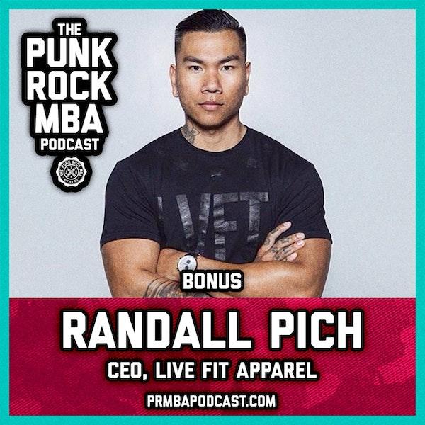 Randall Pich (CEO, Live Fit Apparel) Image