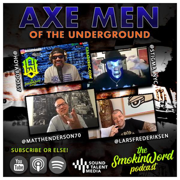 Axe Men of the Underground - Vinny Stigma, Lars Frederiksen, Matt Henderson