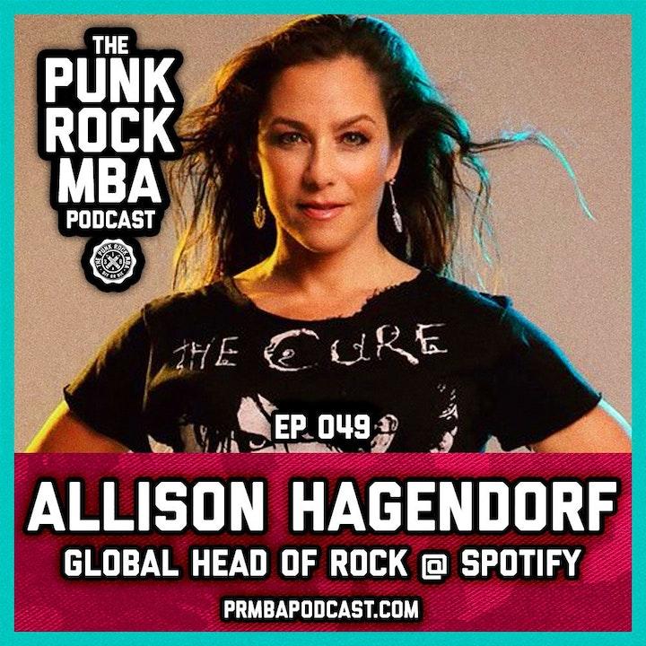 Allison Hagendorf (Global Head of Rock at Spotify)