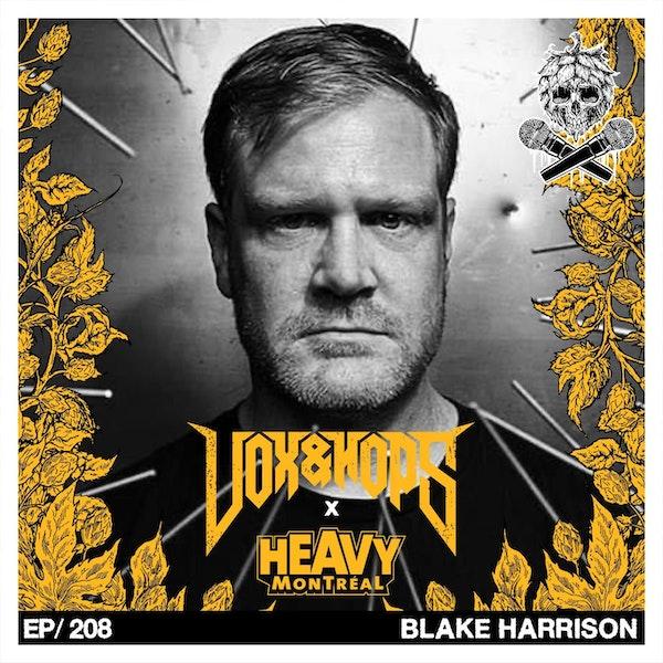 Blake Harrison (Pig Destroyer, Hatebeak & Zealot R.I.P.)